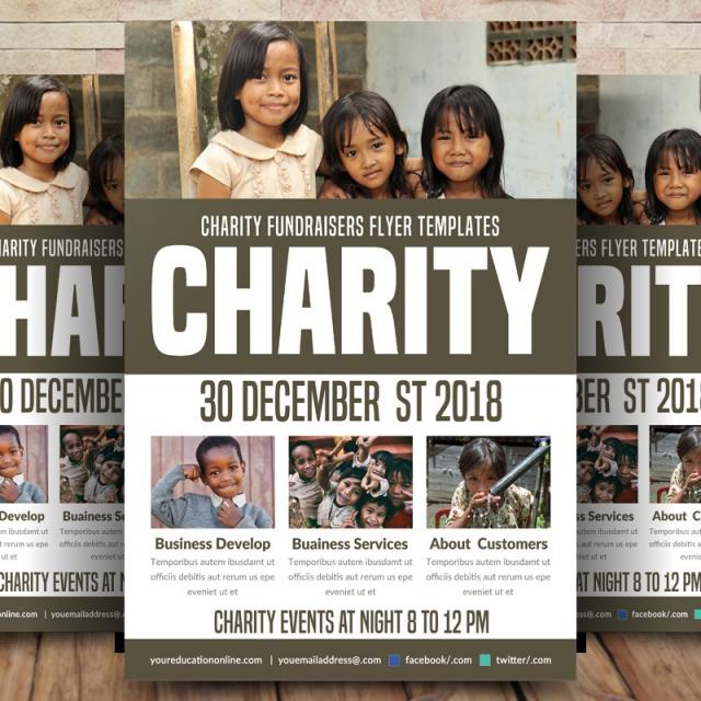 charity flyer templates template for free download on pngtree