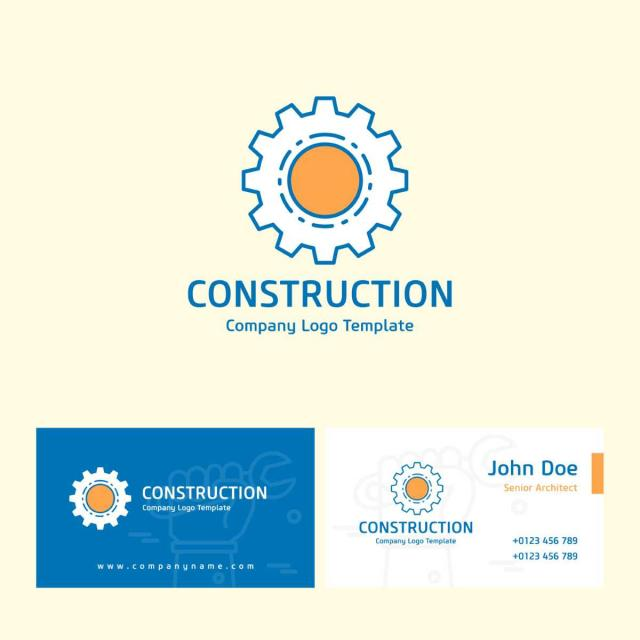 construction logo template for free download on pngtree