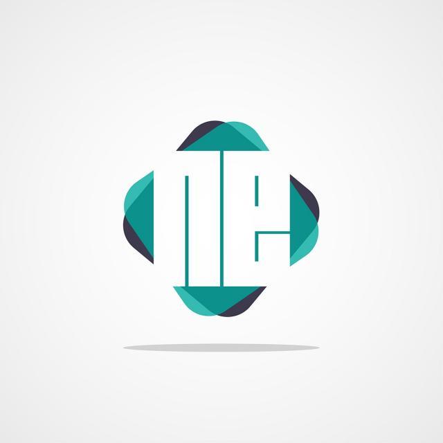 1b11c13bf Letra inicial ne logo design Modelo para download gratuito no Pngtree