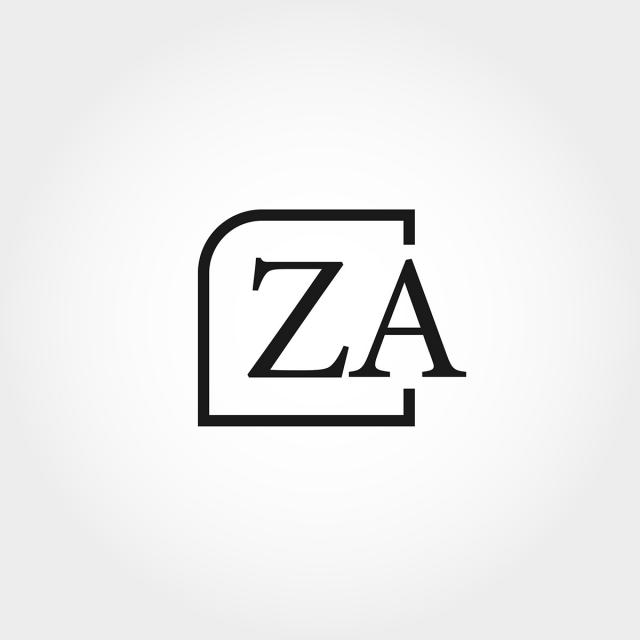 pngtreeにinitial letter za logo template designテンプレートの無料
