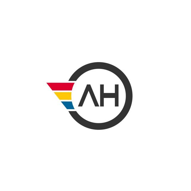 Letter Ah Logo Design Template For Free Download On Pngtree
