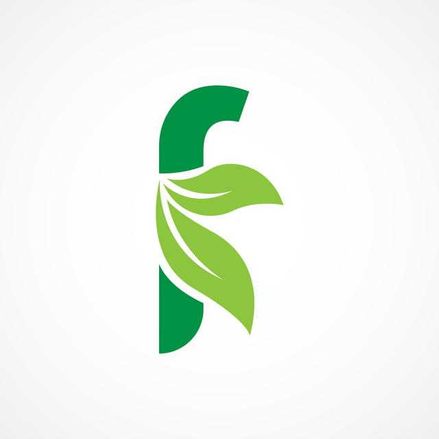 Letter F Leaf Logo Template Template For Free Download On Pngtree