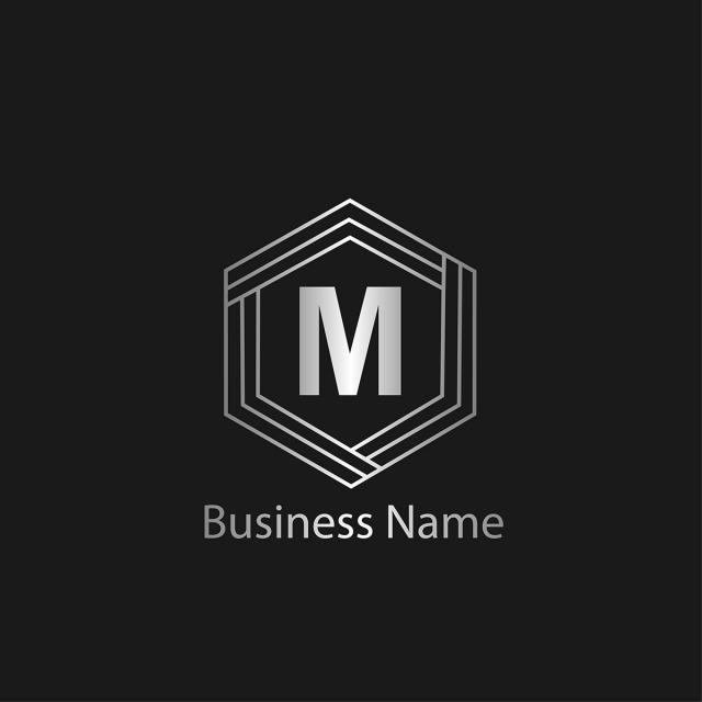 pngtreeにletter m logo templateテンプレートの無料ダウンロード