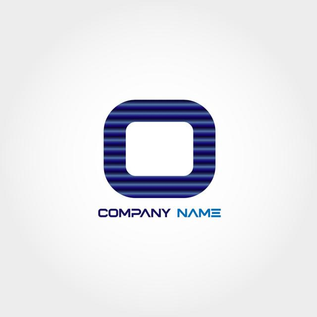 letter o logo template design template for free download on pngtree