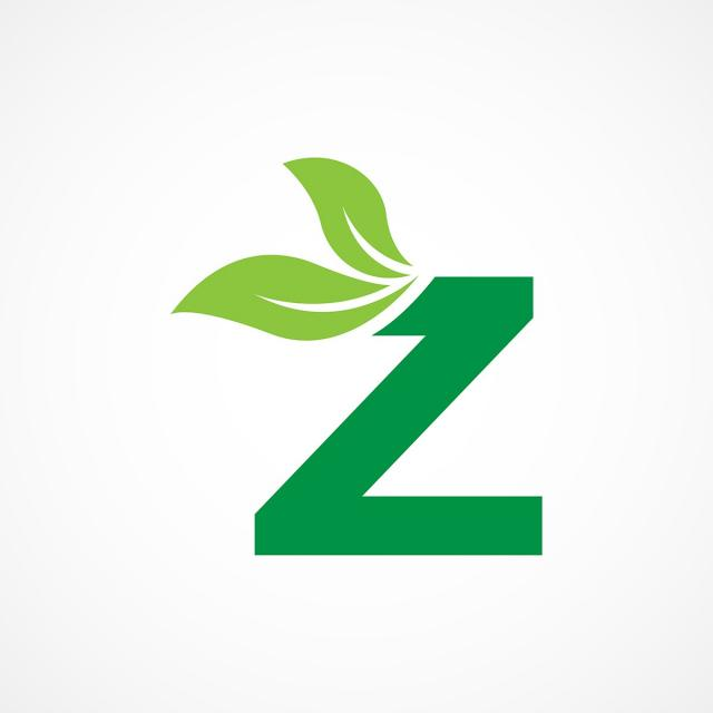 Letter Z Leaf Logo Template Template For Free Download On Pngtree