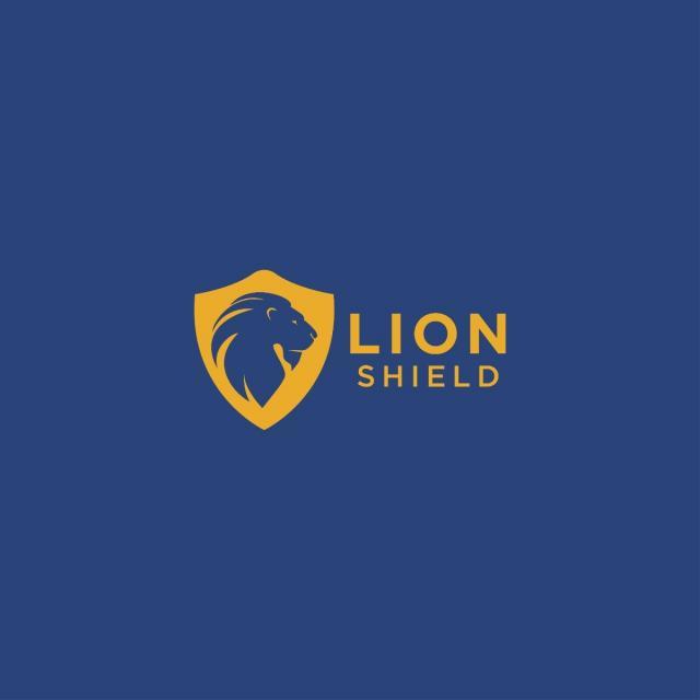 pngtreeにlion and shield logo design templateテンプレートの無料