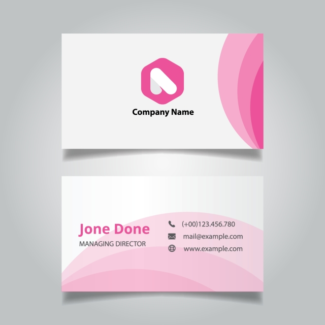 Modern professional pink business card template template for free modern professional pink business card template template maxwellsz