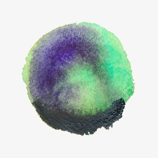 Le Vert De Peinture Avec De L Encre Violet De Collocation Vert ...