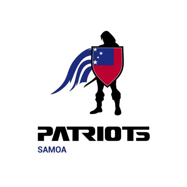 Samoa Flag design with typography vector logo Template for Free