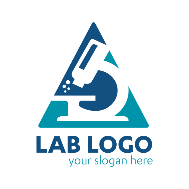 Science Lab logo template, university, universe, microscope, doctor ...