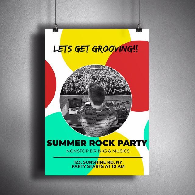 pngtreeに夏のポスターデザインテンプレートの無料ダウンロード