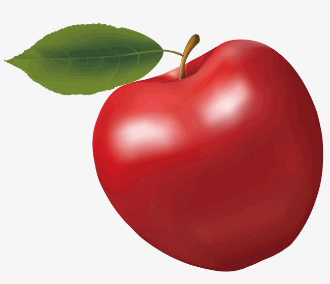 A Big Red Apple Apple Vector Vector Diagram Red Food Png And