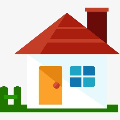 بيت الكرتون منزل كرتون بناء PNG صورة للتحميل مجانا