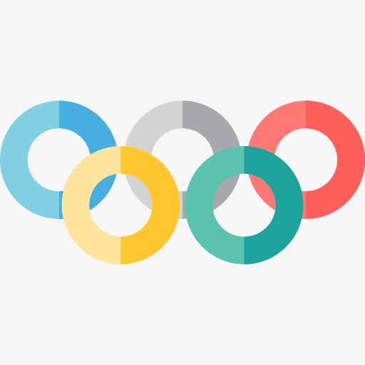 a cartoon rings cartoon clipart olympic games rings png image and