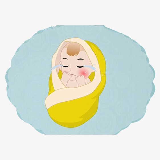 Kartun Pengelolaan Bayi Menangis Bayi Itu Menangis Bayi Menangis