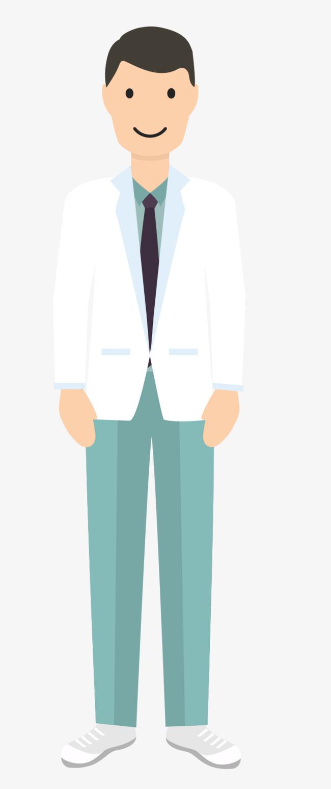 Con un hombre vestido de blanco