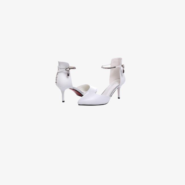 Un Par De Tacones Altos Foto Blanco Tipo De Producto Blanco Zapatos ... ca8559f2aff0