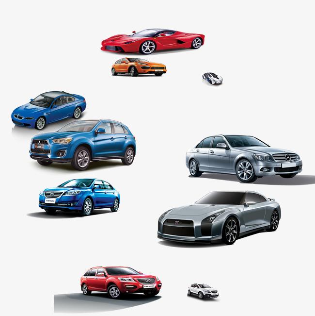 A Row Of Car Beautif