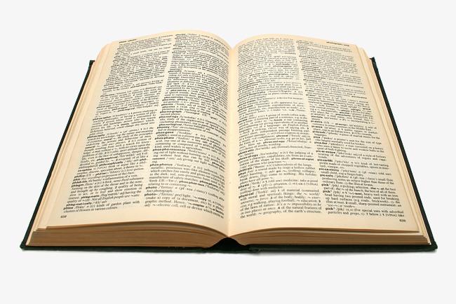 un dictionnaire de langue  u00e9paisse ouvert dictionnaire anglais fichier png et psd pour le