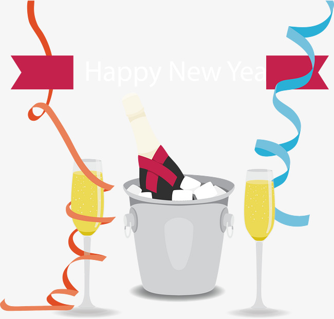 a toast to the party of the new years party party vector new vector