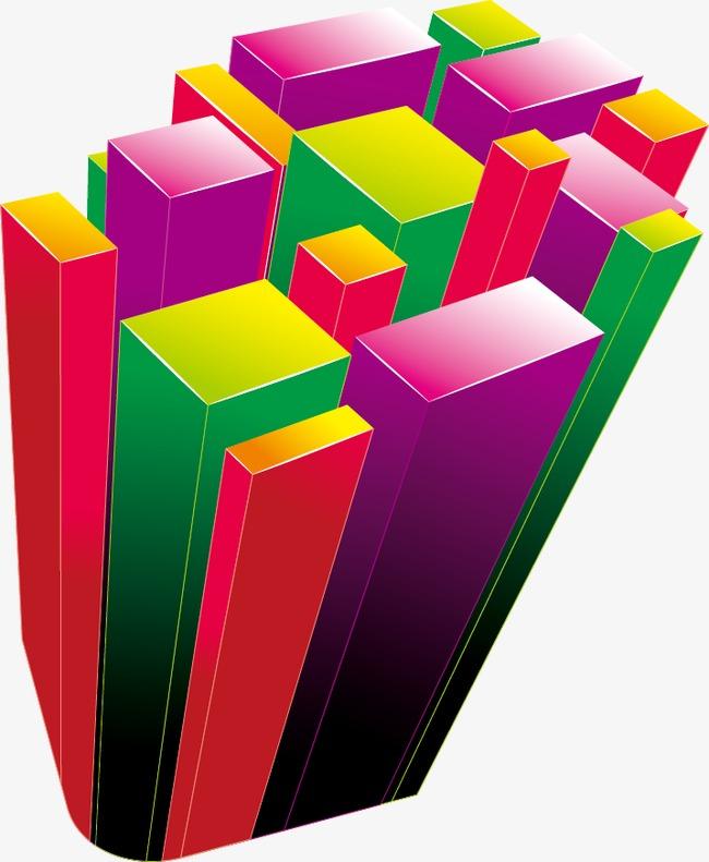 抽象図形のpptアイコンカラーパターン 幾何図形 抽象グラフィックス ppt