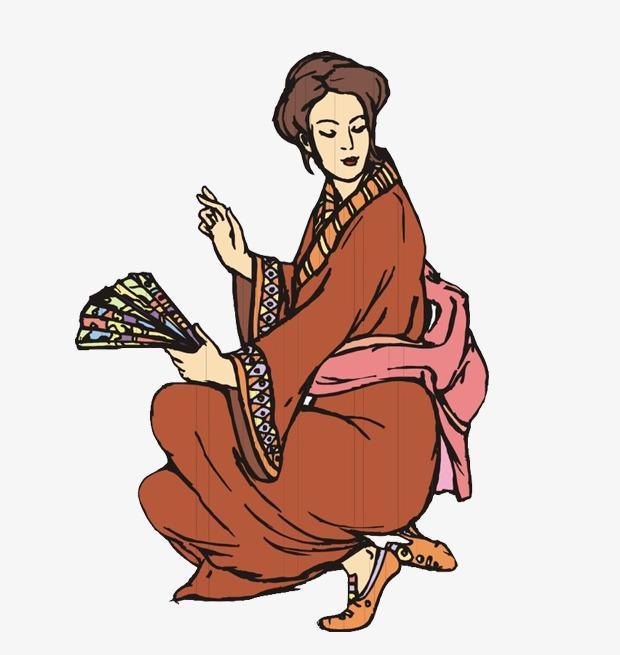 Nhìn Lại Cổ Áo Kimono Của Nhật Bản Người Phụ Nữ Miễn Phí Png Và Clip Nghệ  Thuật