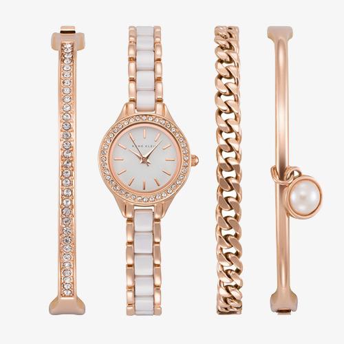 Anne klein ladies relojes pulsera reloj blanco reloj de mujer watch jpg  500x500 Mujer pulsera imigen 3ed01a87e609