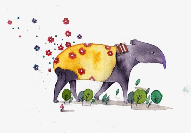Il formichiere i cartoni animati il formichiere gli animali
