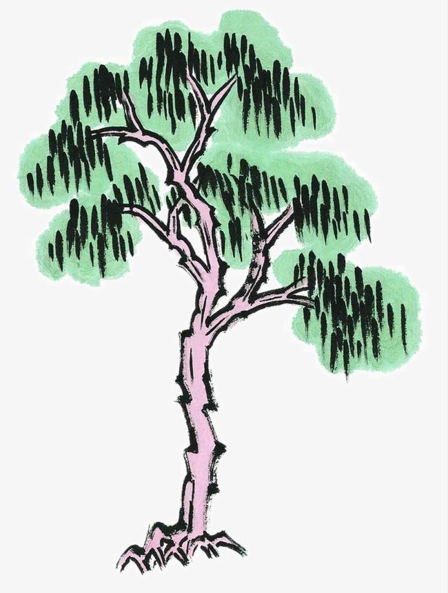 Nero micio salice albero