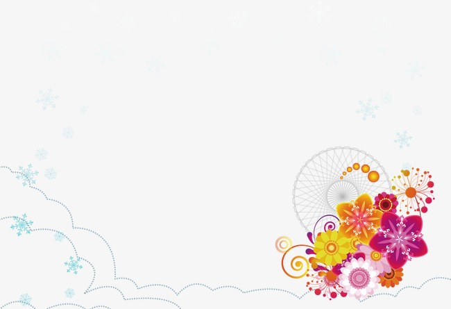 Elementos De Fondo Elementos De Fondo Flores Fondo De Dibujos