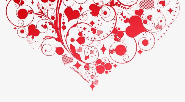 Arriere Plan De L Amour Le Motif Cartes Visite Rouge PNG Image Et Clipart