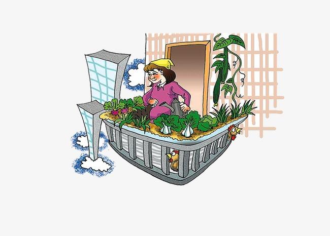 Balkon Balkon Bangunan Kartun Imej Png Dan Clipart Untuk Muat Turun