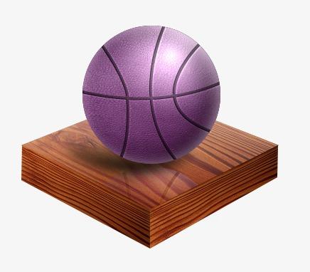 La Palla Viola Brown Il Basket Immagine Png E Clipart Per Il
