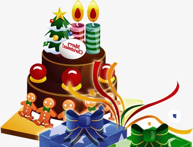 Gateau De Fete De Noel.Belle Fête De Noël De Gâteau Au Chocolat Exquis Célébrer