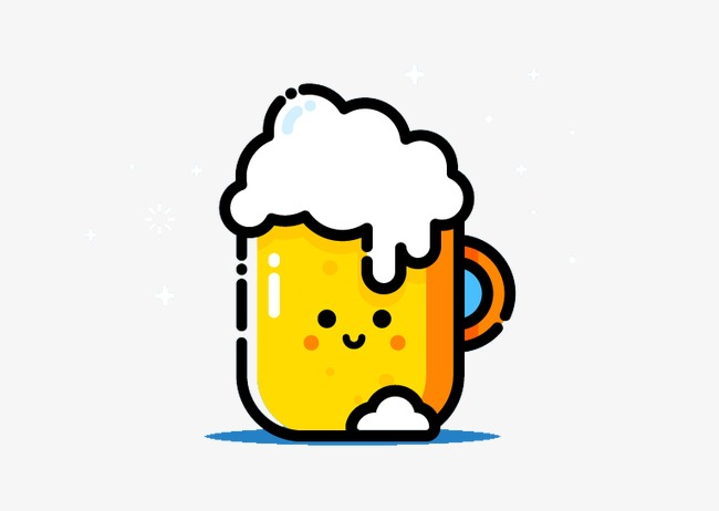 Beer, Beer Clipart, Foreign Creative Material, Vector