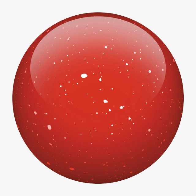 Big Red Ball, Pellet, Red, Little White PNG Transparent ... (640 x 640 Pixel)