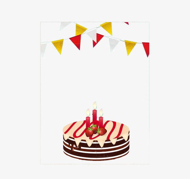 Birthday Cards Birthday Clipart Birthday Cake Banner Png Image