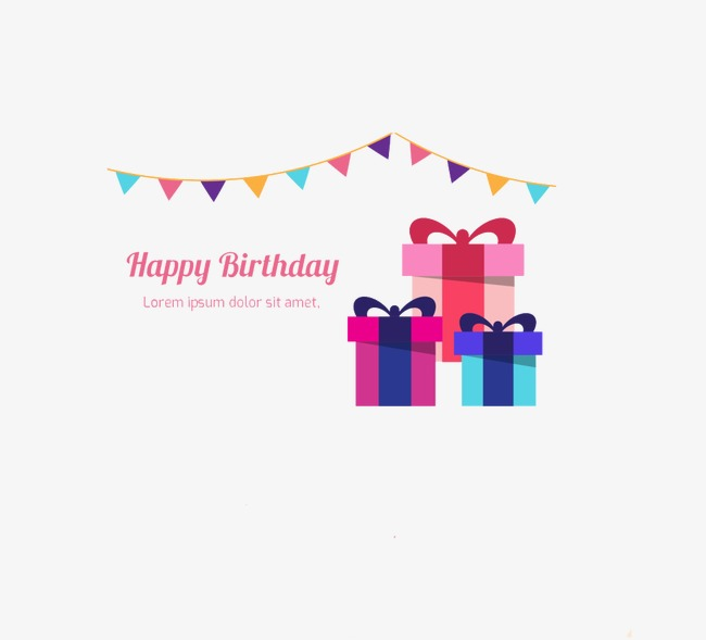 Birthday Gift Birthday Clipart Gift Clipart Gift Boxes Png Image