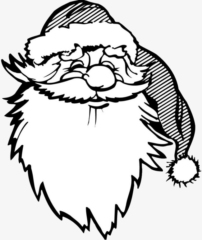 black and white christmas santa claus free videos buckle material santa clipart christmas