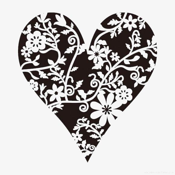 Blanco Y Negro Amor Pintura Decorativa Amor Blanco Y Negro
