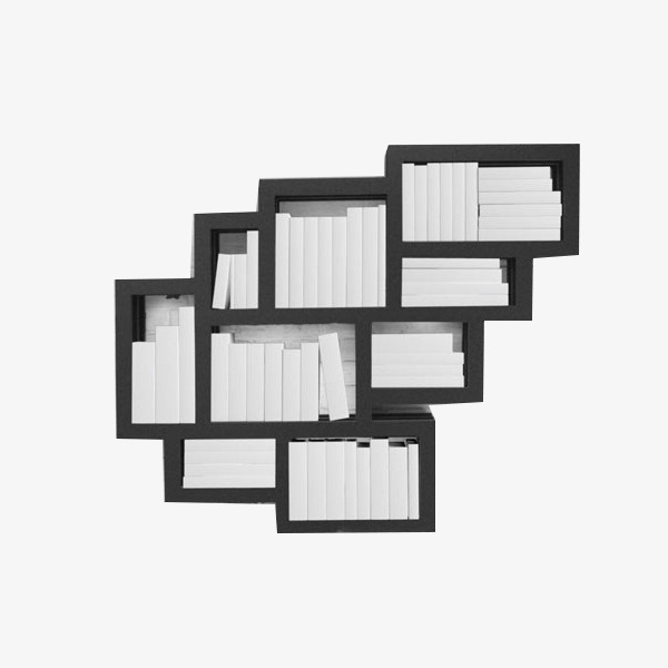 Black And White Striped Light Box Product Kind Rectangle Creative