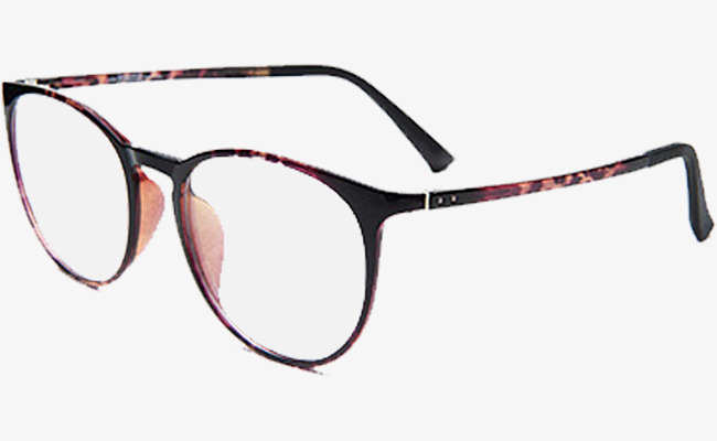 Black Frame Myopia Eyes, Glasses, Product Object, Lens PNG and PSD ...