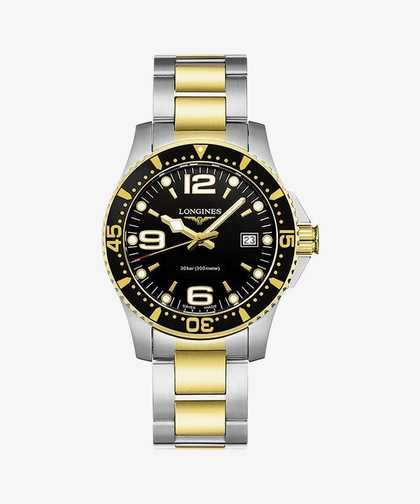 226e4fad4f1 Mens Watch relógio de Pulso relógios Longines Ouro Preto. Grátis PNG e  Clipart