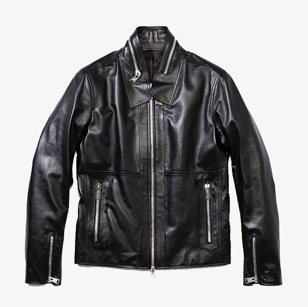 une veste en cuir noir froid noir v tements manteau image png pour le t l chargement libre. Black Bedroom Furniture Sets. Home Design Ideas