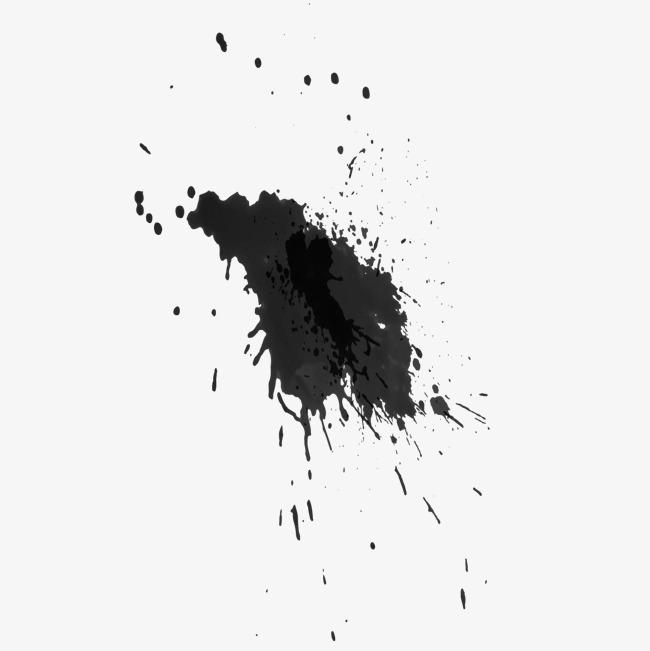 Tinta Negra Vector Salpicaduras De Tinta Black Decoracion De Fondo ... 16d995895803