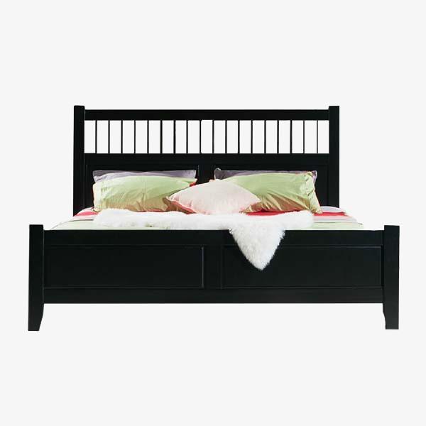 черный King элементы дизайна черный кровать двуспальная кровать Png