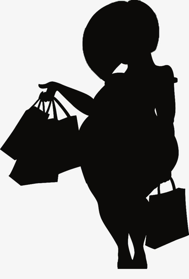 Une Femme Noire Silhouette En Matiere De Dessins Animes Courts Femme