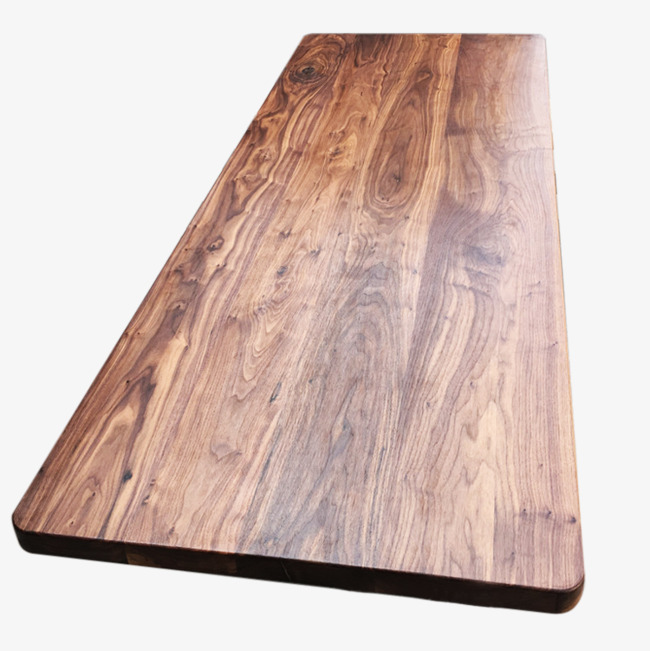 Black Walnut Tabletop Desktop Board Countertop Wood Png Image And Clipart