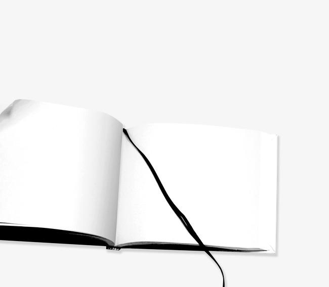 Le Livre Blanc De Feuilles Livres Signets Lecture Image Png