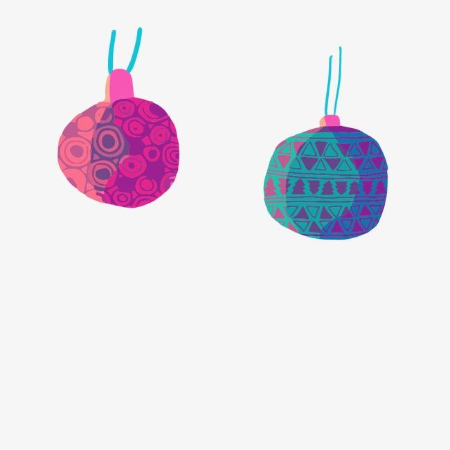 Blue And Purple Decorative Balls Blue Vector Decoration Balls Custom Purple Decorative Balls